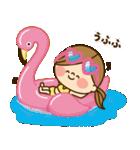 かわいい主婦の1日【さわやかサマー編】(個別スタンプ:27)