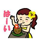 フラダンス大好きでっこちゃん2(個別スタンプ:07)