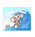 おさるさん と れと丸 5 -Hawaii編ー日本語(個別スタンプ:28)