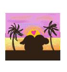 おさるさん と れと丸 5 -Hawaii編ー日本語(個別スタンプ:40)