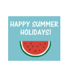 大人の季節のご挨拶・夏(個別スタンプ:18)