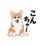 動くヨ!コーギー(個別スタンプ:2)