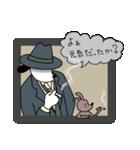 WanとBoo (ハードボイルド編)(個別スタンプ:01)