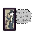 WanとBoo (ハードボイルド編)(個別スタンプ:08)