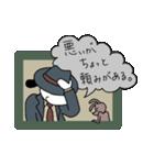 WanとBoo (ハードボイルド編)(個別スタンプ:10)