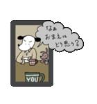 WanとBoo (ハードボイルド編)(個別スタンプ:33)