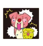 プッチ&ビビ(個別スタンプ:04)