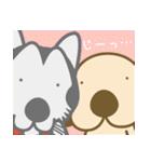 毎日使える★フラダンスな犬(個別スタンプ:22)