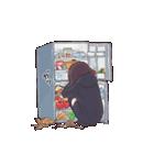 うごく!メンヘラちゃん。3(食べる)(個別スタンプ:04)