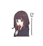 うごく!メンヘラちゃん。3(食べる)(個別スタンプ:05)