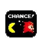 パックマン&ファミスタ【BNE×UE】(個別スタンプ:01)
