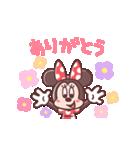 ミニーマウス(パステルカラー)(個別スタンプ:02)