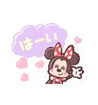 ミニーマウス(パステルカラー)(個別スタンプ:03)