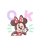 ミニーマウス(パステルカラー)(個別スタンプ:05)