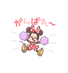 ミニーマウス(パステルカラー)(個別スタンプ:09)
