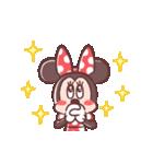 ミニーマウス(パステルカラー)(個別スタンプ:10)