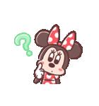 ミニーマウス(パステルカラー)(個別スタンプ:11)