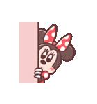 ミニーマウス(パステルカラー)(個別スタンプ:13)