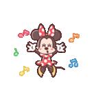 ミニーマウス(パステルカラー)(個別スタンプ:17)