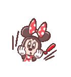 ミニーマウス(パステルカラー)(個別スタンプ:18)