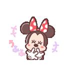 ミニーマウス(パステルカラー)(個別スタンプ:19)