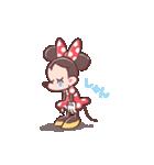 ミニーマウス(パステルカラー)(個別スタンプ:20)