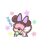 ミニーマウス(パステルカラー)(個別スタンプ:24)
