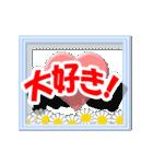 ▷でか文字☆花のお祝い・誕生日(個別スタンプ:03)