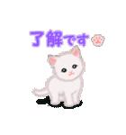 よちよち子猫 短い言葉(個別スタンプ:31)