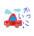 coosanのクレヨン画風スタンプ(個別スタンプ:24)
