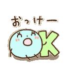 水玉ちゃん*日常*リアクション(個別スタンプ:02)