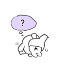 すこぶるウサギ【ハイテンション】(個別スタンプ:28)