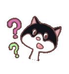 ハチワレ猫のにゃむねこ(個別スタンプ:04)