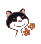ハチワレ猫のにゃむねこ(個別スタンプ:06)