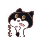 ハチワレ猫のにゃむねこ(個別スタンプ:22)