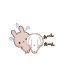ラブラブ動く☆好きがいっぱい仲良しウサギ(個別スタンプ:13)