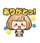 おかっぱ女子【秋冬ハロウィン】(個別スタンプ:04)