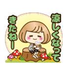おかっぱ女子【秋冬ハロウィン】(個別スタンプ:10)