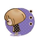 おかっぱ女子【秋冬ハロウィン】(個別スタンプ:24)
