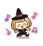 おかっぱ女子【秋冬ハロウィン】(個別スタンプ:32)