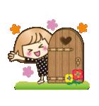おかっぱ女子【秋冬ハロウィン】(個別スタンプ:38)