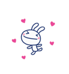 ほぼ白うさぎ12(LOVE編)(個別スタンプ:13)