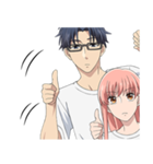TVアニメ「ヲタクに恋は難しい」(個別スタンプ:5)