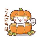 かぼちゃパンツの猫 2018(個別スタンプ:05)