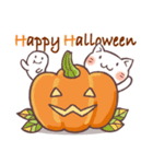 かぼちゃパンツの猫 2018(個別スタンプ:06)