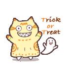 かぼちゃパンツの猫 2018(個別スタンプ:08)