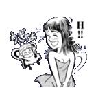 妖精とさやかちゃん(個別スタンプ:08)