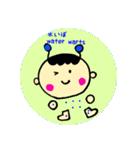 病気 予防接種に役立つ子供の病名スタンプ(個別スタンプ:37)