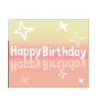 誕生日おめでとう SET 2(個別スタンプ:1)