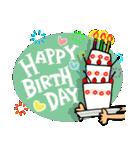 誕生日おめでとう SET 2(個別スタンプ:7)